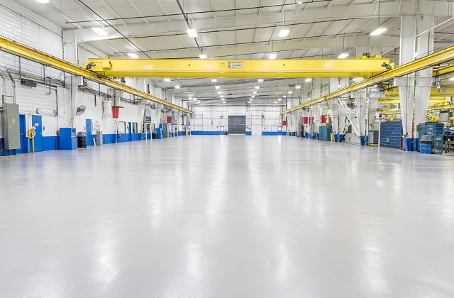 stonclad gs flooring in chemical/mining facility